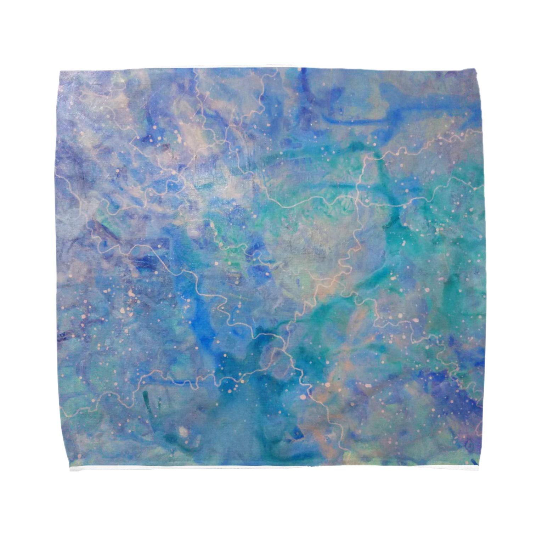immrのみちる Towel handkerchiefs