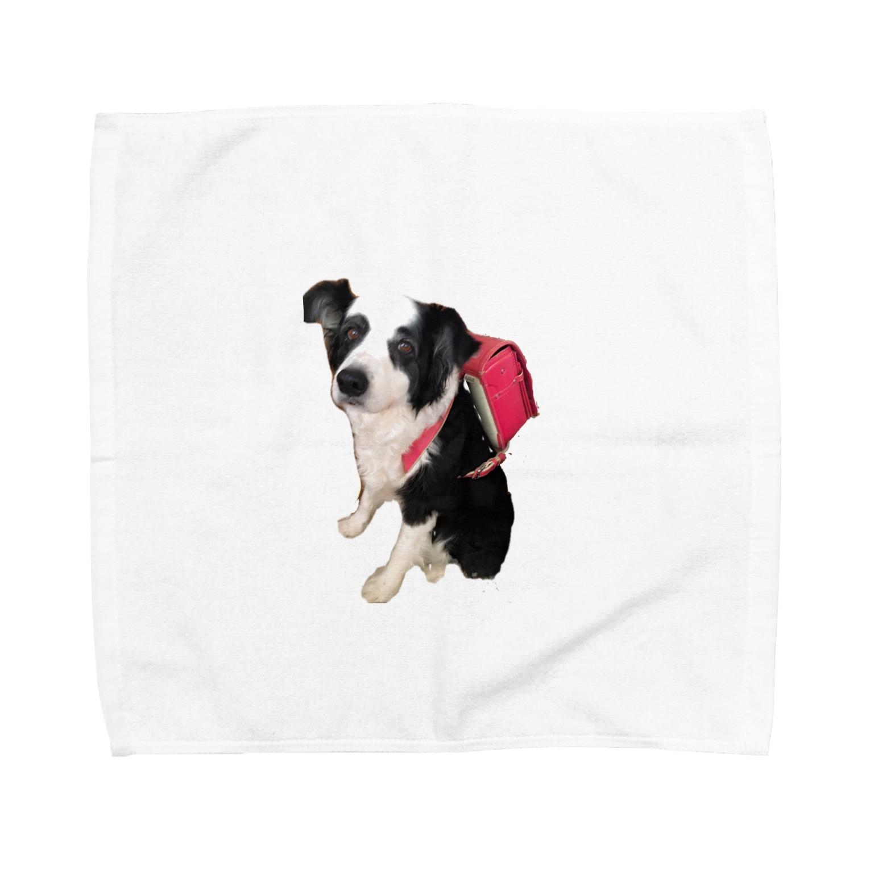 hamalatownzのパオちゃん〜春〜 Towel handkerchiefs