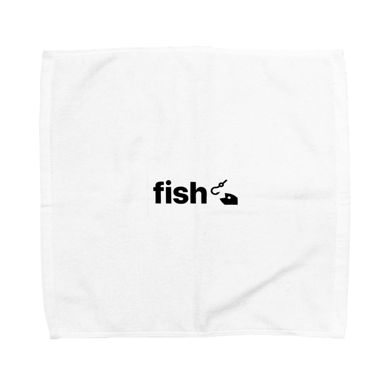 animalsのfish Towel handkerchiefs