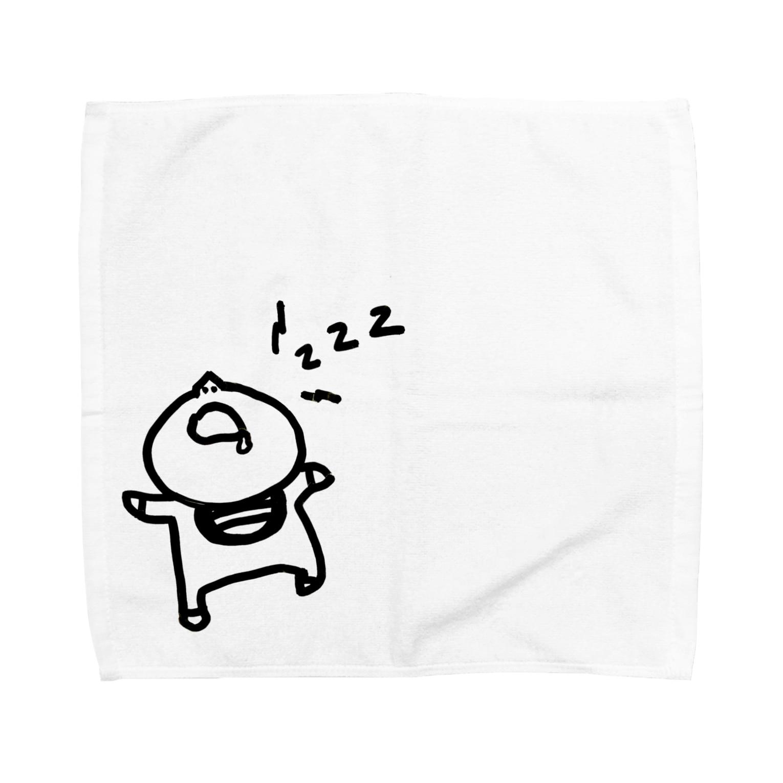 えりっくの寝る子は起こさない。 Towel handkerchiefs
