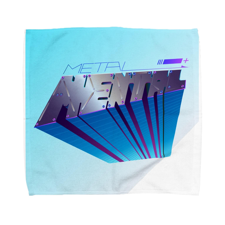 ANのメタルなメンタル Towel handkerchiefs