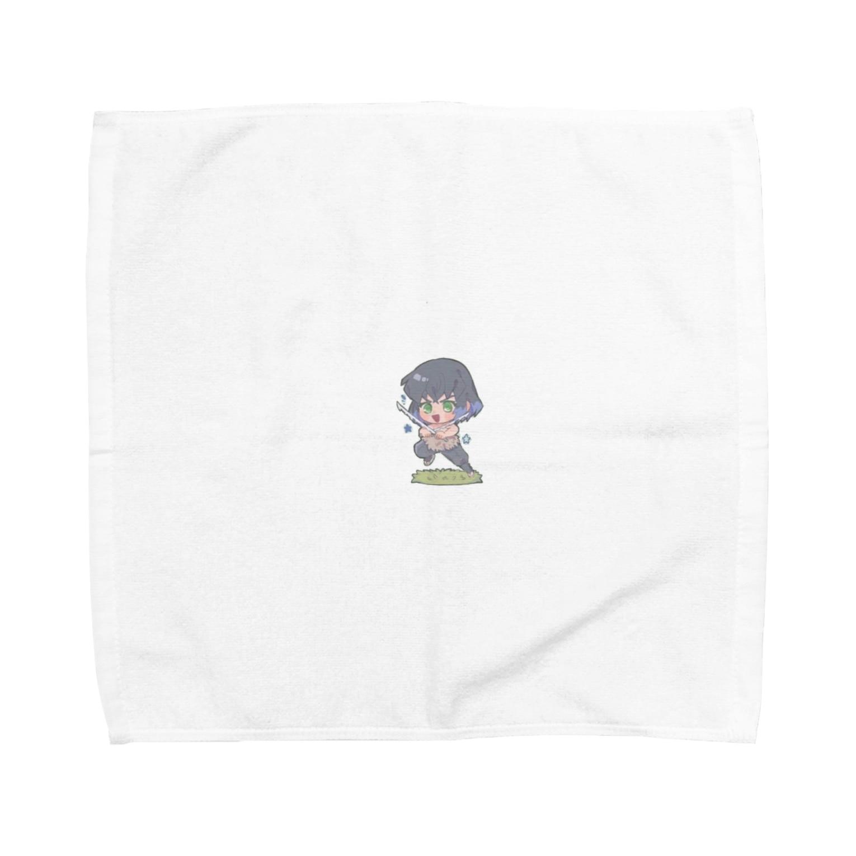 AME03の伊之助 Towel handkerchiefs