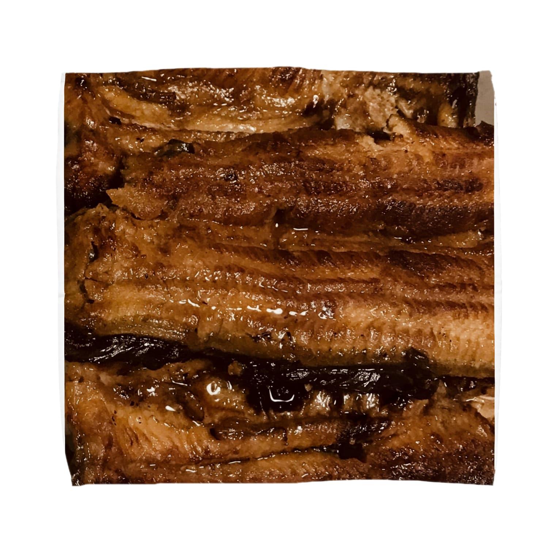 mnの鰻 Towel handkerchiefs