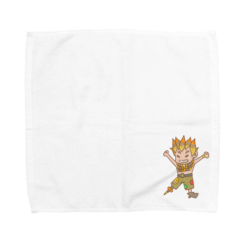 AkinoAliceのはしゃぐジャンクラット Towel handkerchiefs