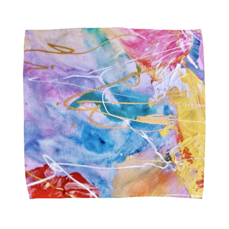 lalasandiegoのpalette.2(横ver.) Towel handkerchiefs