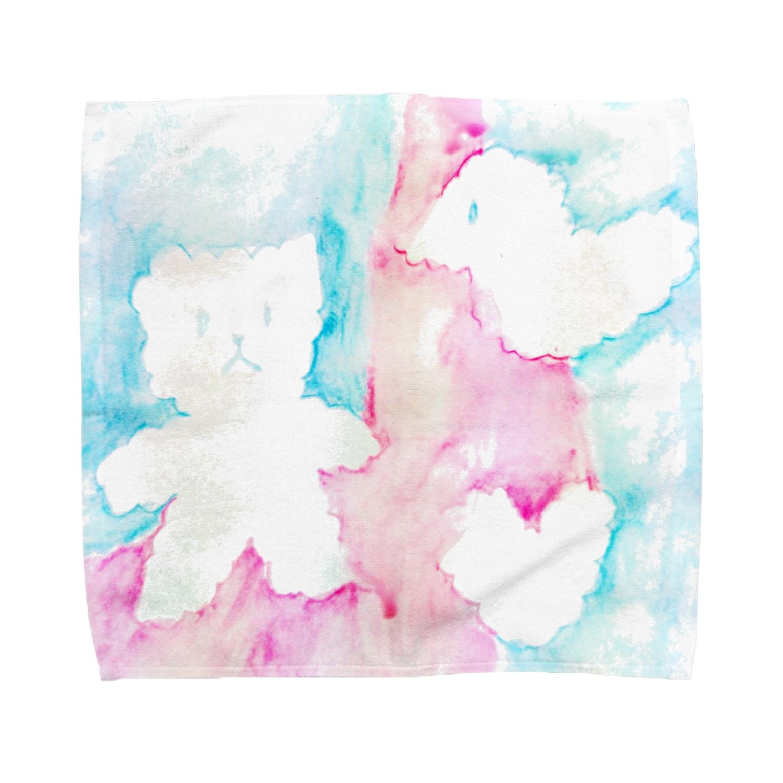 しがないななしSHOPのやさしい空 Towel handkerchiefs