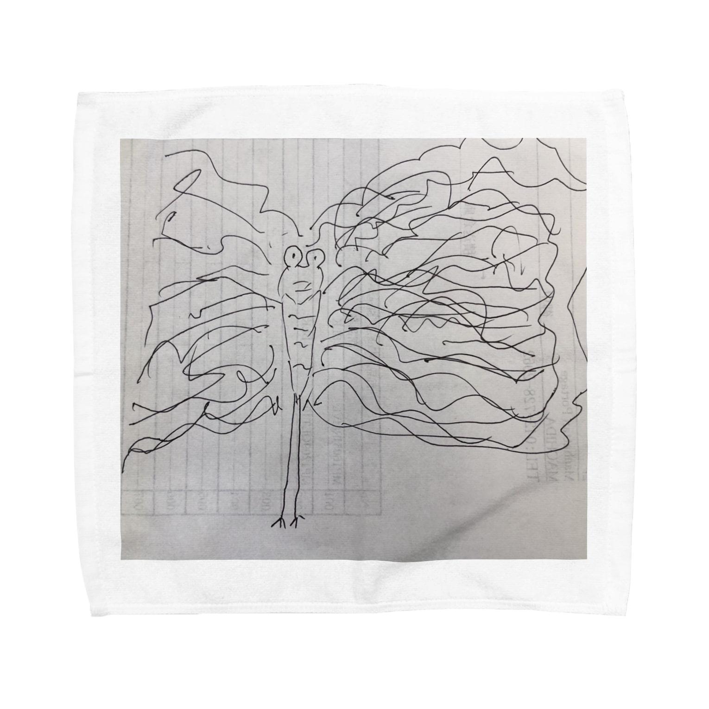 aSの孔雀 Towel handkerchiefs