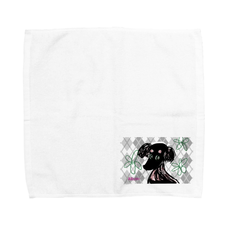 MA3のあるるぅ Towel handkerchiefs