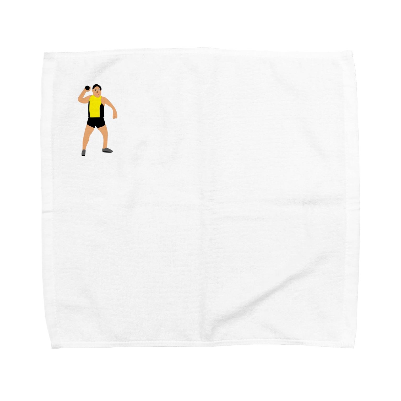 MOBの砲丸投げ Towel handkerchiefs