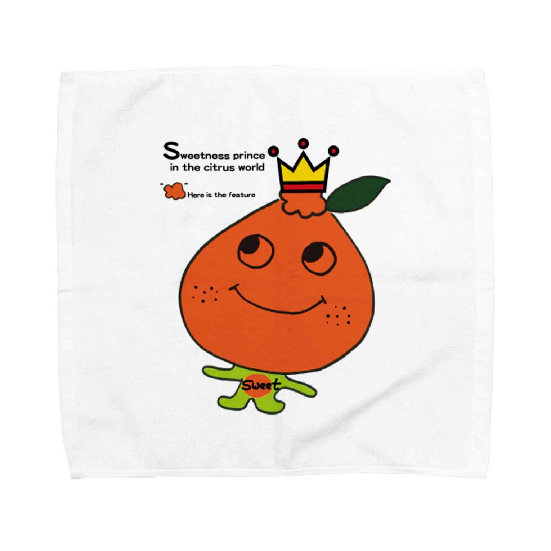 POPUP_KOBE_MARIKOのデコポン Towel handkerchiefs