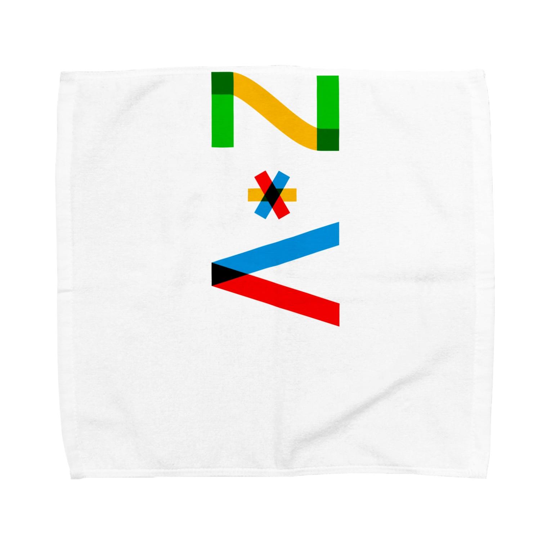 marikiroのZV initial Towel handkerchiefs