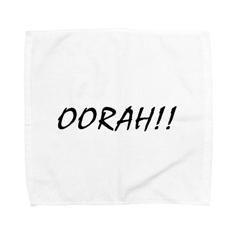 EAA!! Official Store - EAA!! 公式ストアのOorah!! Towel handkerchiefs