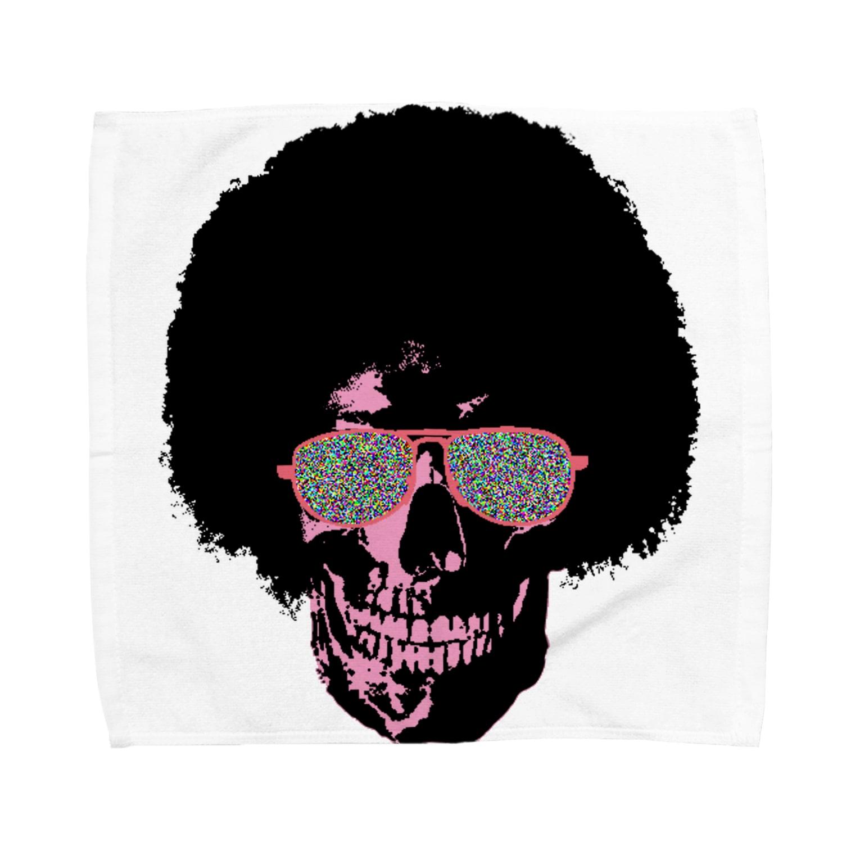 MackToons A.K.A カキ天のFunky Skull!!!! Towel handkerchiefs