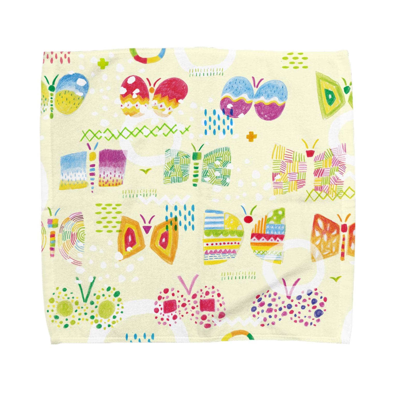 引野 裕詞のbutterfly-butterfly-butterfly Towel handkerchiefs