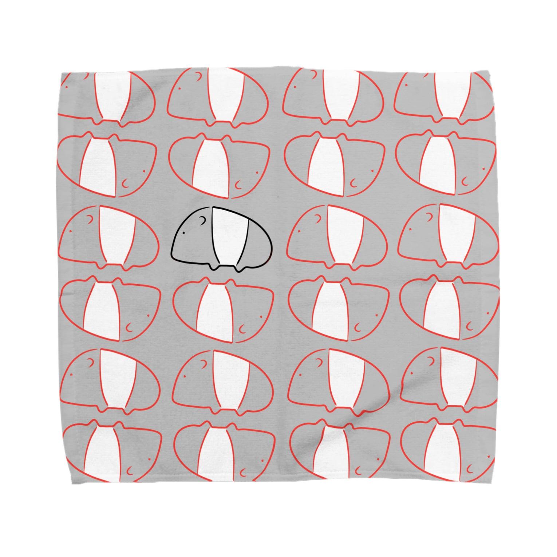 うらめし屋のバクたん爆誕 Towel handkerchiefs