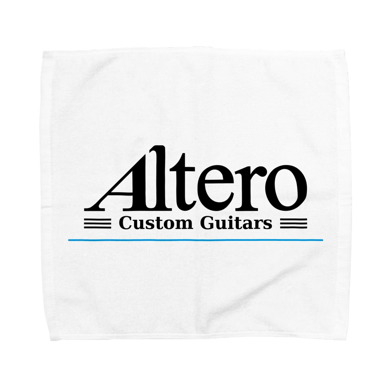 Altero_Custom_GuitarsのAltero Custom Guitars02(淡色向け) Towel handkerchiefs