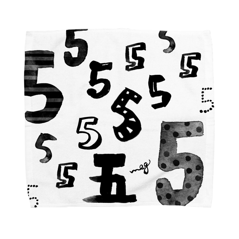 megumiillustrationの5 タオルハンカチ