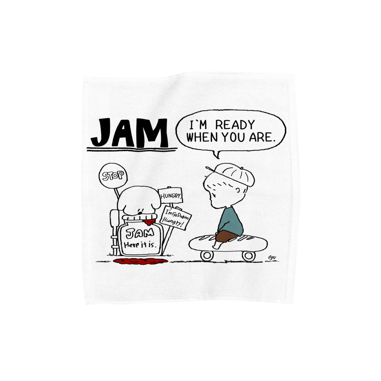 egu shopのJAM BOY Towel handkerchiefs