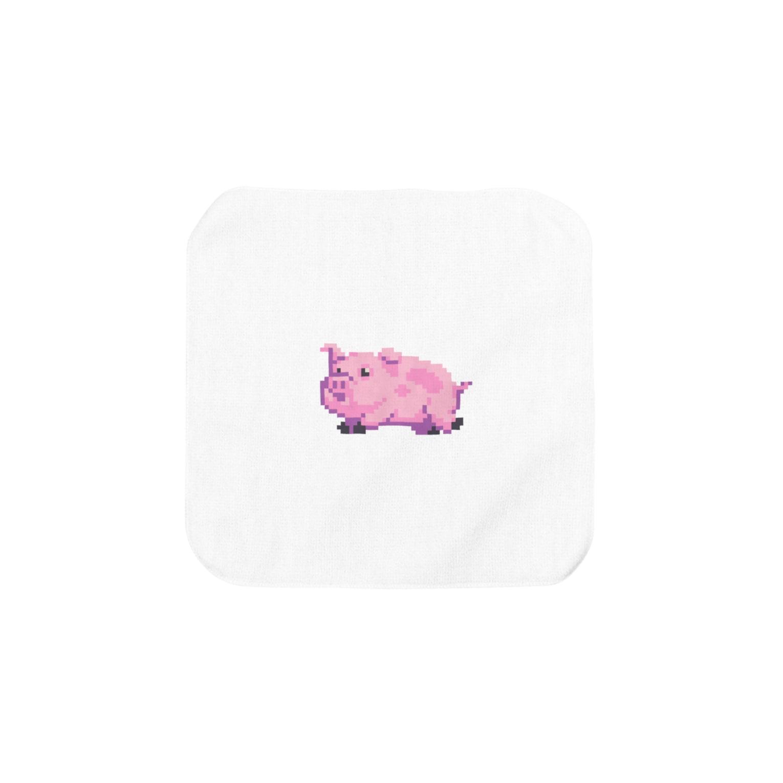 notteのpig Towel handkerchiefs