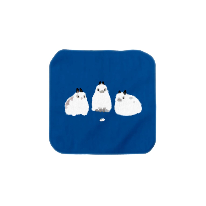 大賀一五の店のゴマフウーリー Towel handkerchiefs