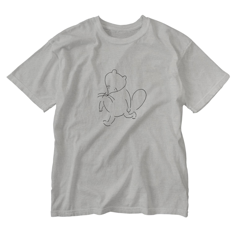 shirtskirtのポカホンタス Washed T-shirts