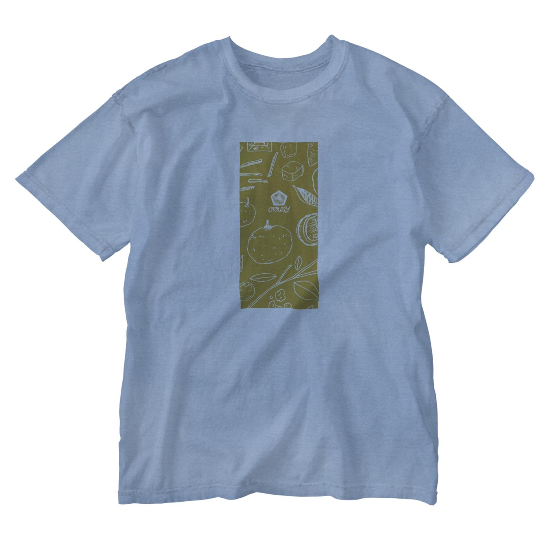 ORUBYの柚子やかな日々。 Washed T-shirts