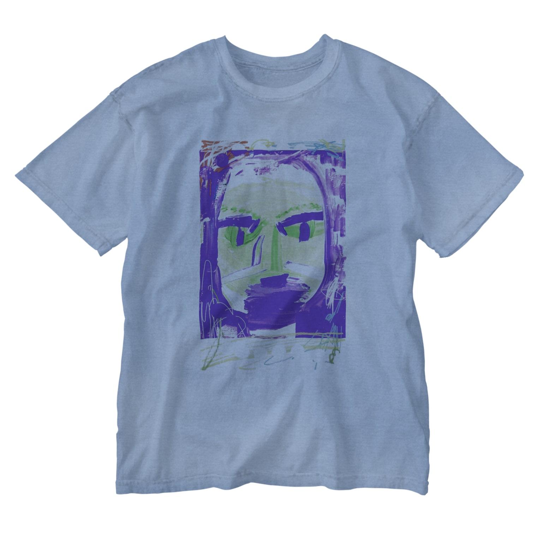 FRESH⭐︎DRAWING 2020のはるのかお Washed T-shirts