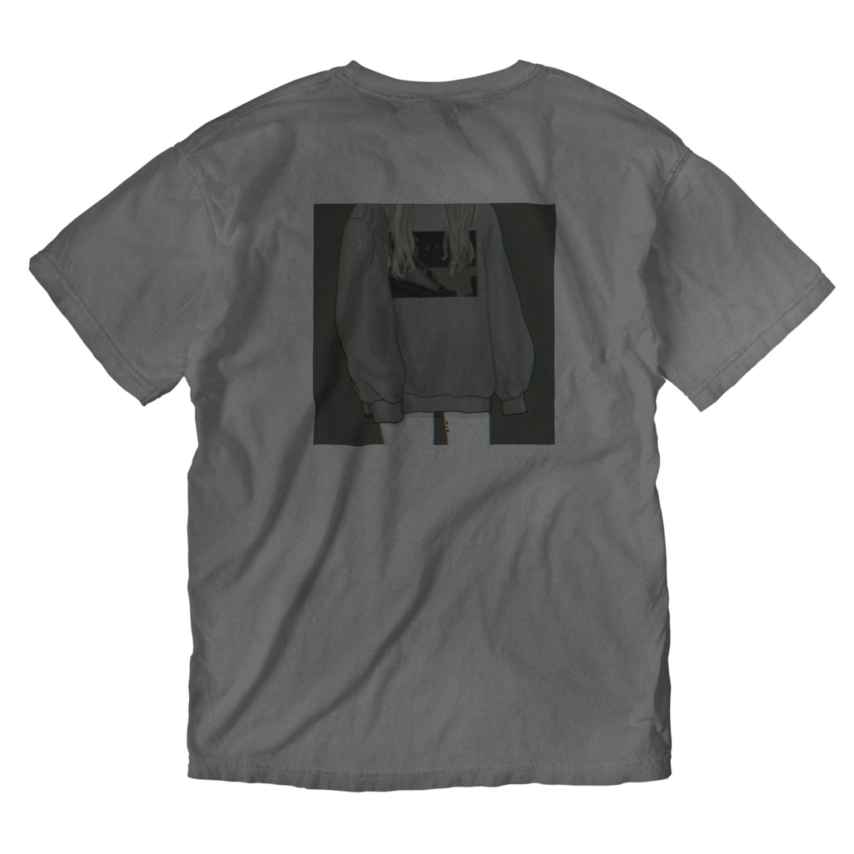 𓃹 𝓟𝔂𝓸𝓶 𓃹   (  ぴょん  )のprayer Washed T-shirtsの裏面