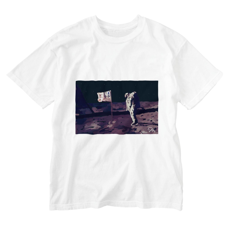 Boston ShopのApollo50thMoonLanding Washed T-shirts