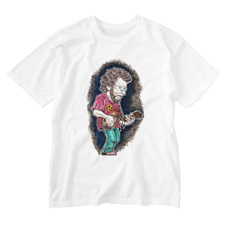 windou330のマンドリン Washed T-shirts