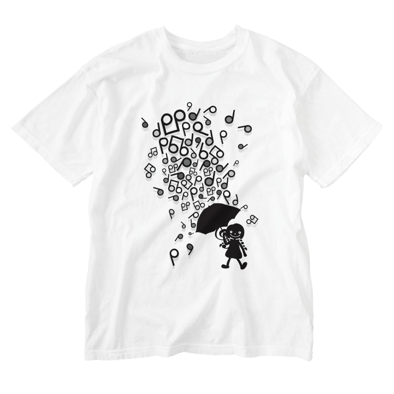 AURA_HYSTERICAのSingin' in the Rain Washed T-shirts