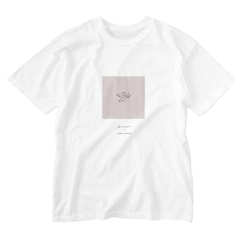 イラストレーター kimixの恋と退屈 Washed T-shirts