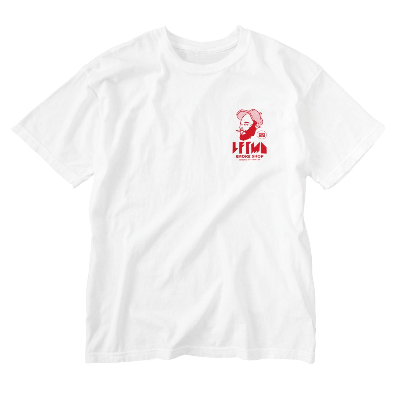 Leftmade_Graphicsのface Washed T-shirts