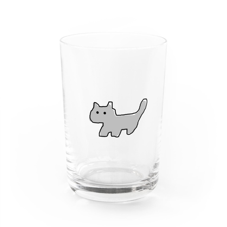 eeeeeeのねこのつもり Water Glass