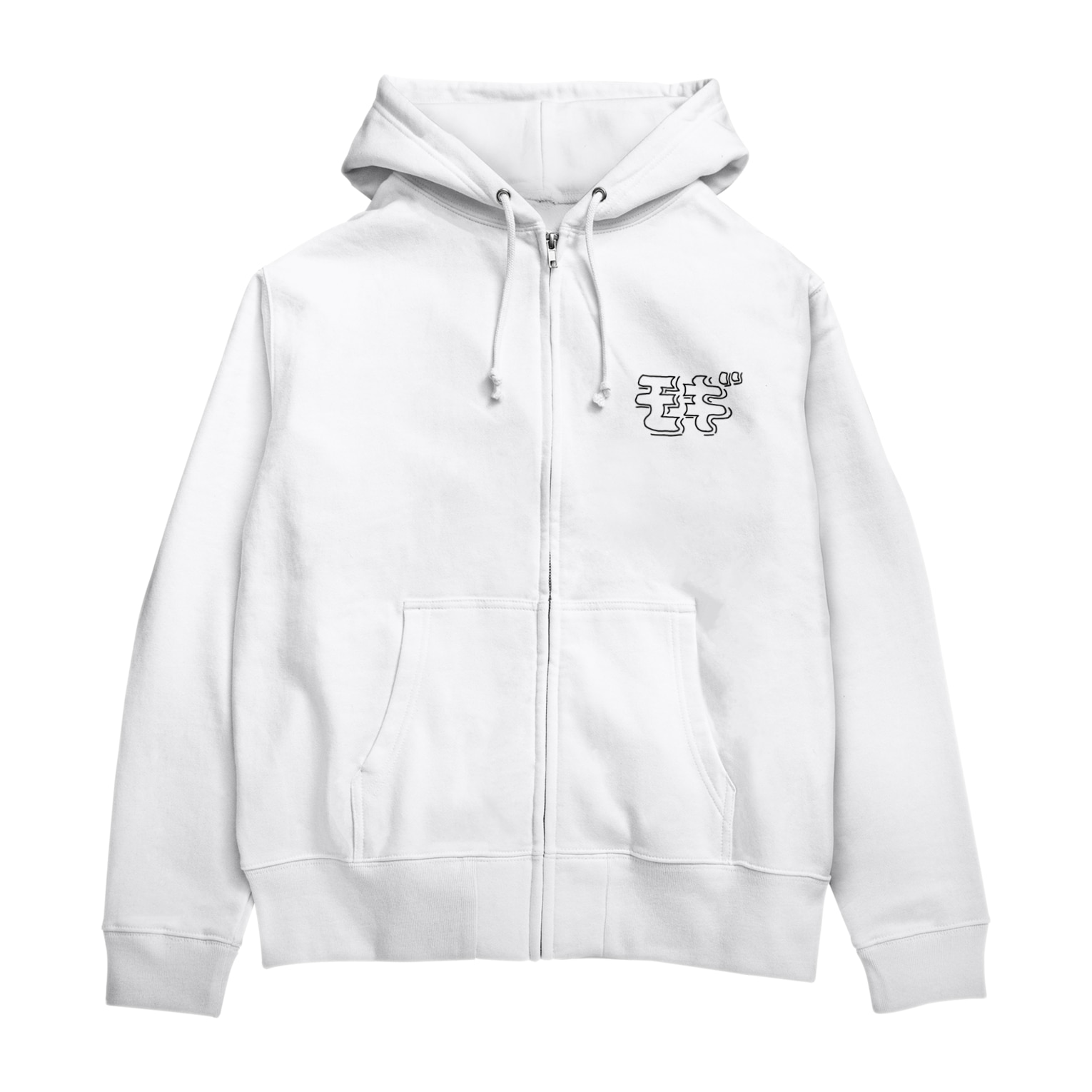 rino_teteのモギ Zip Hoodies
