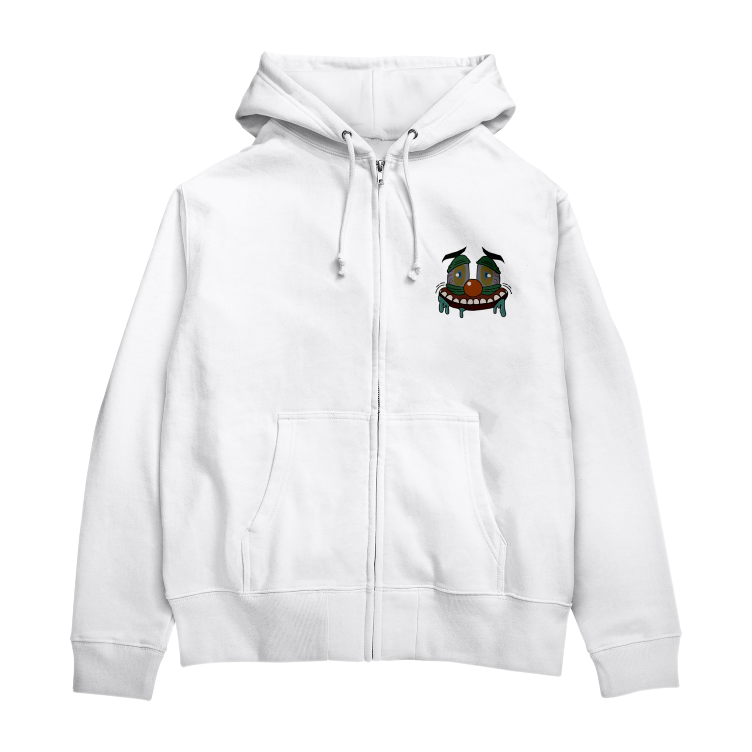 am_ooOのhungry Zip Hoodies