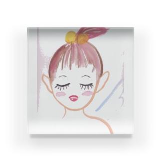 残機0のお店の妖精 Acrylic Block