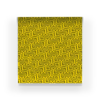 NYORO GRAM yellow アクリルブロック