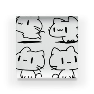 どどねこ-ぜんぶ- Acrylic Block