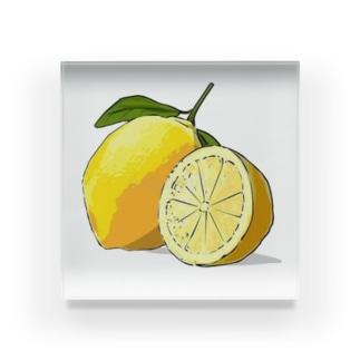 レモン!檸檬! Acrylic Block