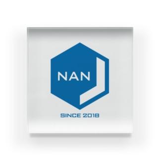 NANJCOIN公式ロゴ入り Acrylic Block