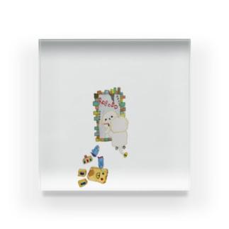 ROBOBO「シェリーロボのお出かけ」 Acrylic Block
