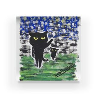 黒猫の夜 Acrylic Block