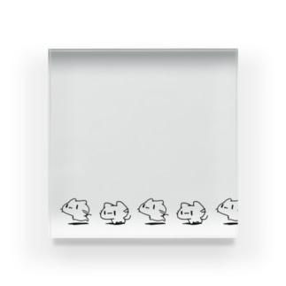 どどねこ-せいれつ- Acrylic Block