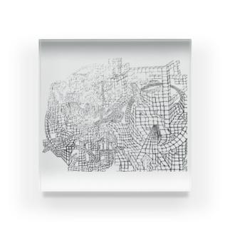 ヾ(*・ω・)ノ ♪  Acrylic Block