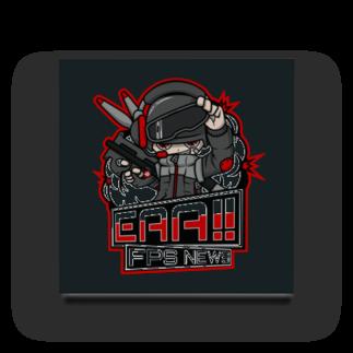 EAA!! Official Store - EAA!! 公式ストアの新ロゴ「EAA(いぇあ)軍曹(仮)」 v2 Acrylic Block