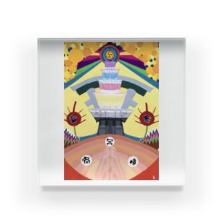 四天王寺-shitennoji- Acrylic Block