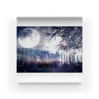 幻想的風景1 Acrylic Block