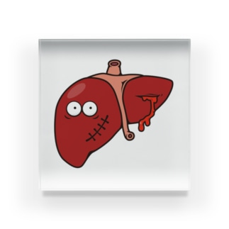 Broken Liver / 内臓の内情 Acrylic Block