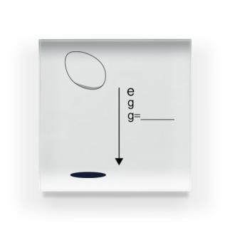 g= Acrylic Block